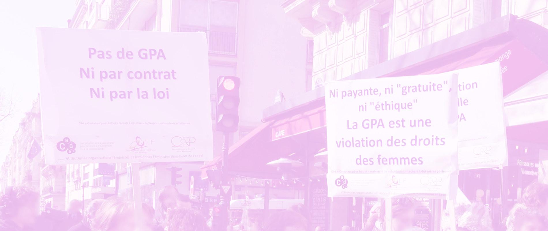 image groupe de femmes illustrant la rubrique Abolition de la GPA