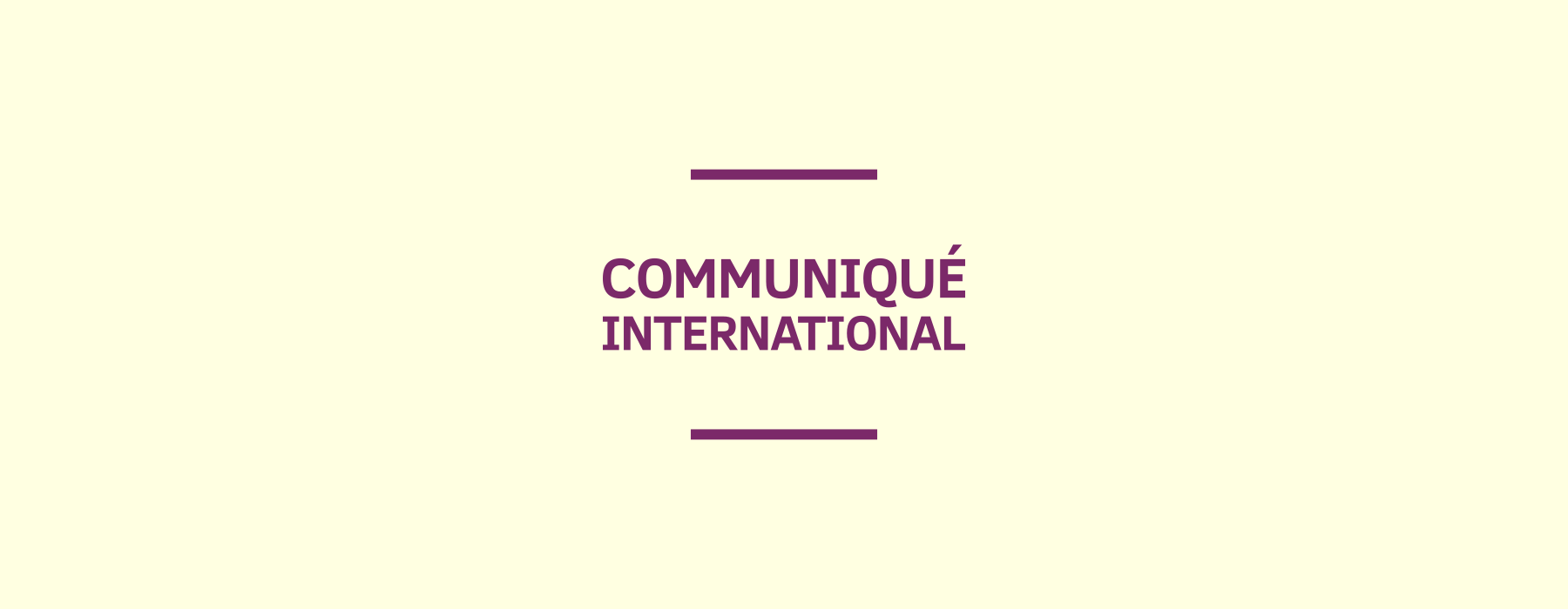 Communiqué international pour l'interdiction mondiale de la maternité de substitution (sept 2018)