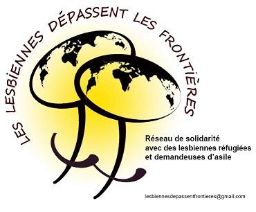 Logo du réseau des lesbiennes dépassent les frontières